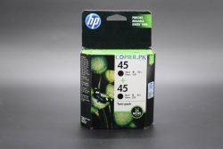 HP 45 2-pack Black Original Ink Cartridges Pakistan Copier.pk