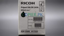 Ricoh DX-2430 Black Ink Cartridge in Pakistan Copier.pk