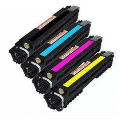 HP 130A 4-pack Cyan/Magenta/Yellow/Black Original LaserJet Toner Cartridges