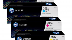 HP 305A Toner Cartrige Pack