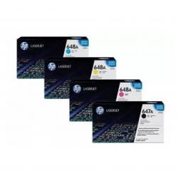 HP 648A Toner Cartrige Pack