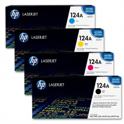 HP 124A Toner Cartrige Pack