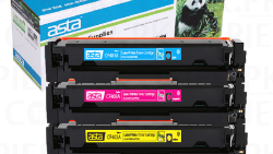ASTA 410A | 411A | 412A Colour Toner Cartridge (Cyan,Yellow,Black)