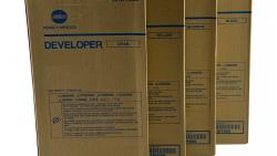 Konica Minolta Developer Set (CMYK)