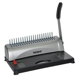 Texet Pro Manual Binding Machines/Binds 450Sheets A412Sheets Grey