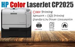 HP Color LaserJet CP2025 Branded Printer